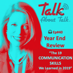 #40 – 19 COMMUNICATION SKILLS from 2019