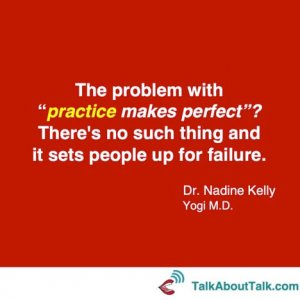 """Practice Makes Perfect""? blog"